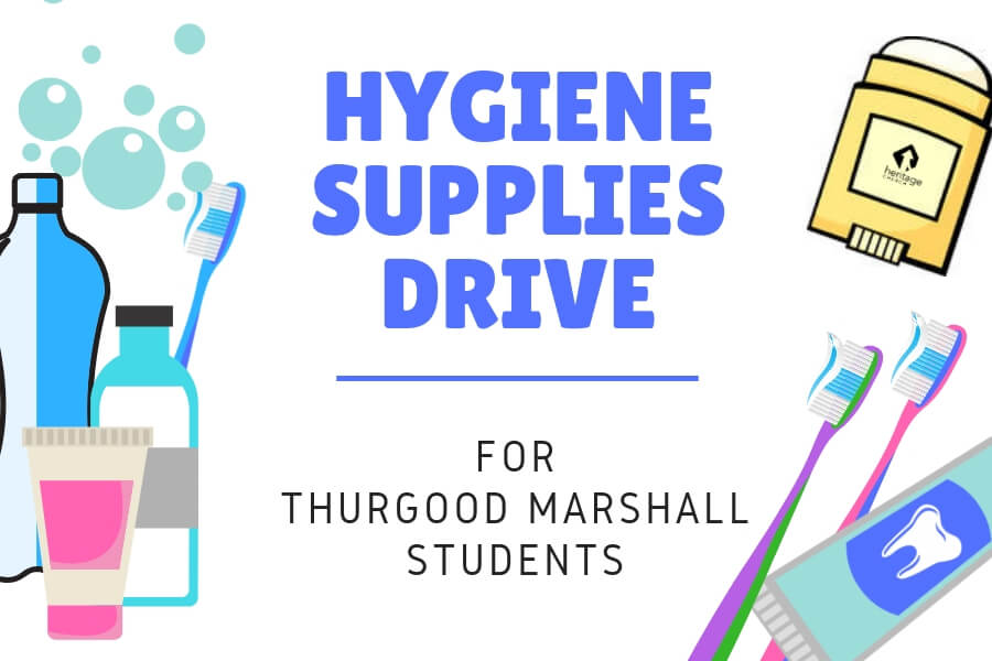 Hygiene Supply Drive!